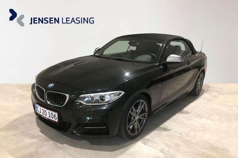 BMW M235i 3,0 Cabriolet xDrive aut. 2d privatleasing