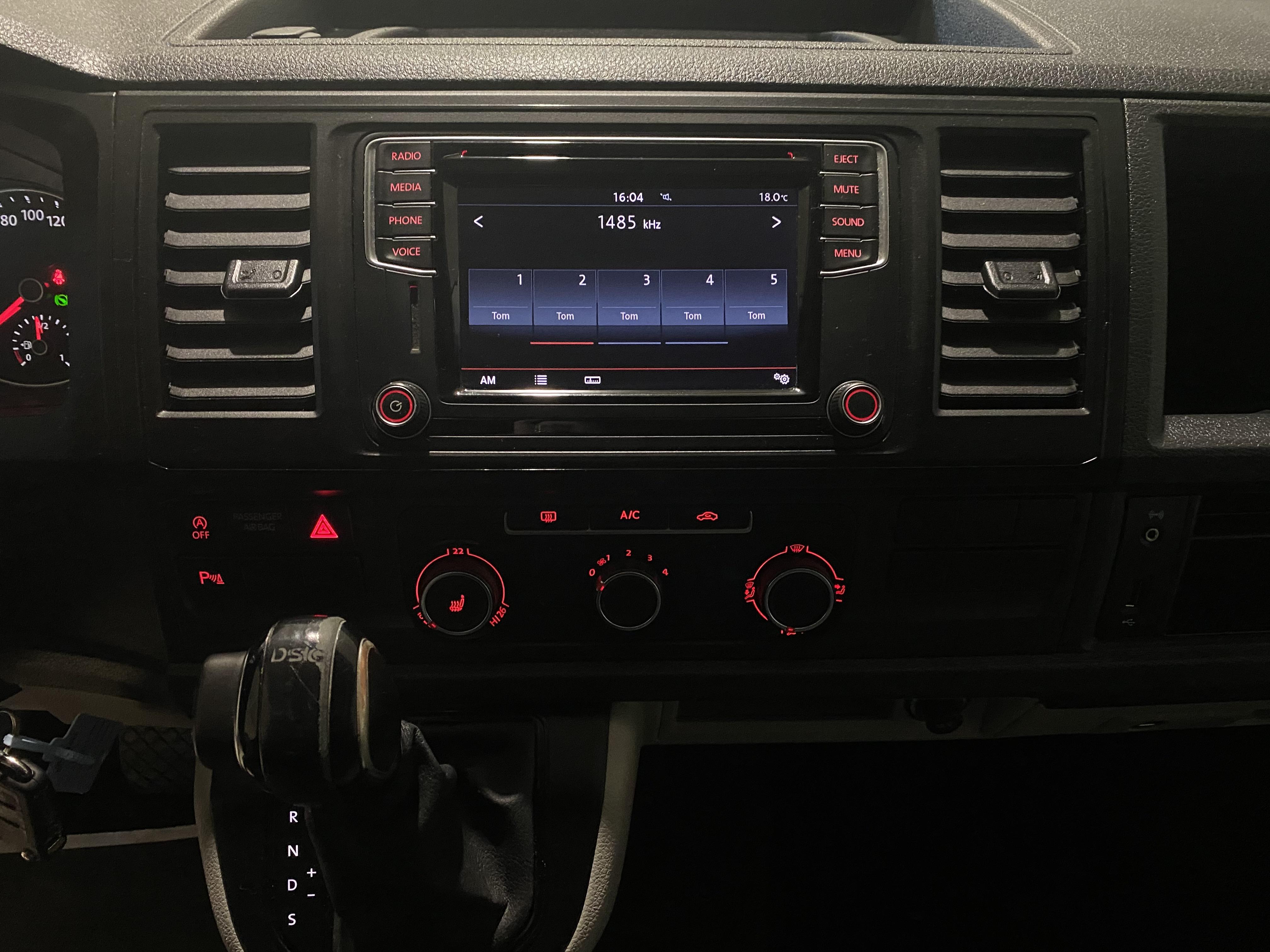 VW Transporter 2,0 150 Kassevogn DSG lang leasing
